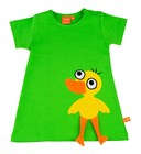 Green dress duckling by Lipfish