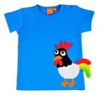 T-shirt Rooster by Lipfish