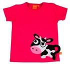 T-shirt cow by Lipfish