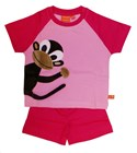 Pink pyjama monkey by Lipfish