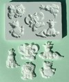 Alphabet Moulds - Baby Animals