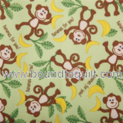 PUL Babyville Fabric - Waterproof Diaper fabrics - Monkeys