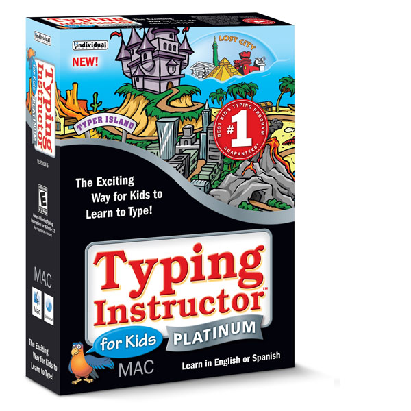 Download Typing Instructor for Kids Platinum 5 Mac version
