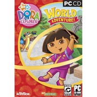 Dora the Explorer Dora's World Adventure computer game XP only