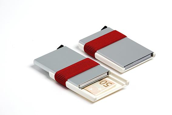 low priced 16035 31829 SECRID Card-Slide AMSTERDAM, Grey Aluminium Card Case
