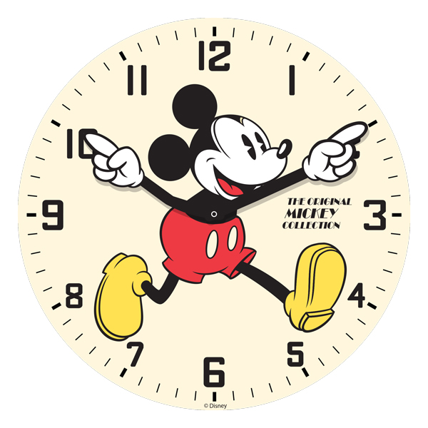Disney Mickey Mouse Classic Limited Edition Wall Clock
