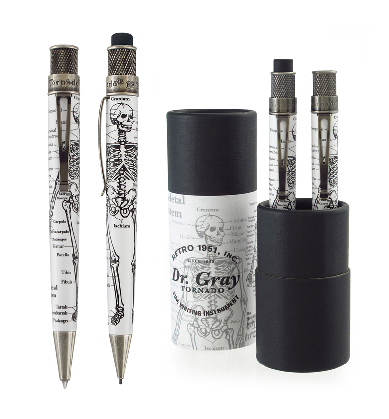 Retro 51 Tornado Vintage<br/>Dr. Gray Anatomy 1.15mm Pencil Pens de ...