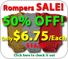 baby rompers sales