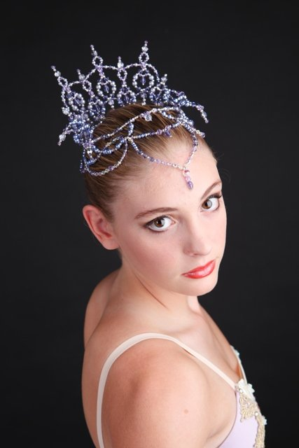 Sleeping Beauty lilac fairy tiara