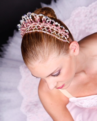 Ballet Crystal Tiaras and Crowns