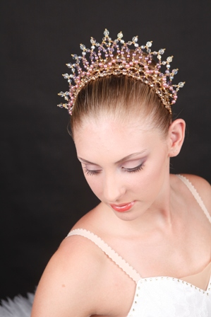 Crystal Dance Petal Tiara Headpieces
