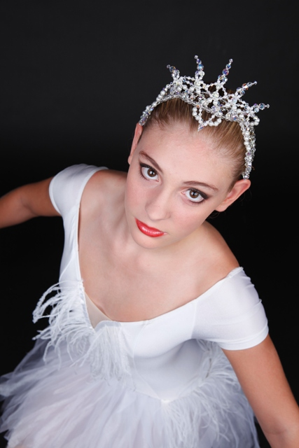 Crystal Ballet Tiara Swan Lake Repertoire Headpiece