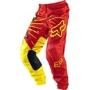 FOX 2012 180  ROCK STAR PANTS RED