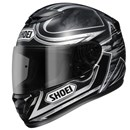 (CLEARANCE SALE) Shoei TZ-X Ethereal Helmet TC-5 Black Silver (XS ONLY)
