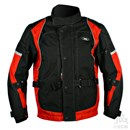 KG CAYENNE TEXTILE JACKET BLACK/RED Clearance Special