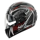 Shark Vision-R Fuxy Helmet Black/Red/Anthracite
