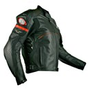 (CLEARANCE SALE) - RYNUS CHARISMA LEATHER JACKET BLACK