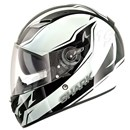 Shark Vision-R Reveal Helmet Black/White