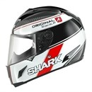 Shark RACE-R ORIGINAL Black White Red Helmet SALE