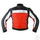 KG RADAR SUMMER TEXTILE JACKET BLACK/RED Clearance Special