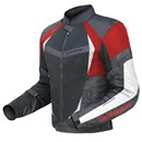 DriRider Air Ride 2 Mens Jacket Black Red