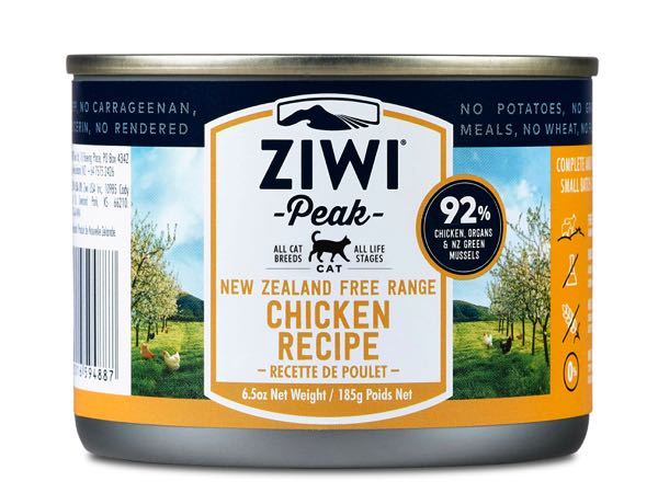 ZIWI Peak for cats - canned free-range Chicken