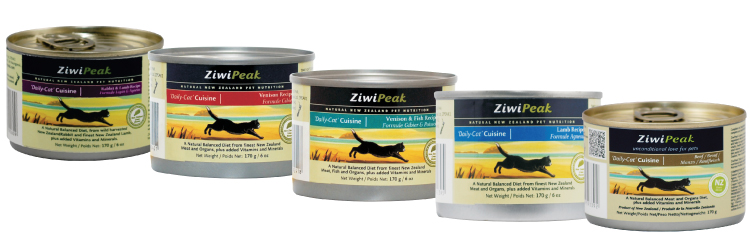 ZiwiPeak carrageenan-free canned cat food