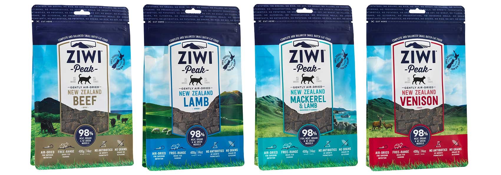 ZIWI Peak Top-Rated Natural Cat Food