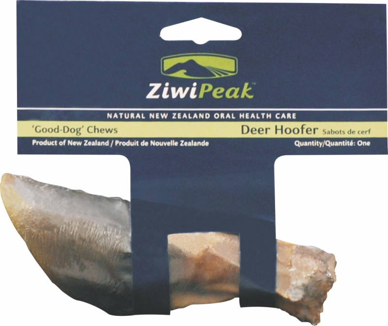ZiwiPeak Deer Hoofer - the ideal dog chew for small dogs' dental health