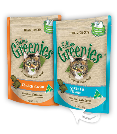 Feline Greenies - dental treats for cats