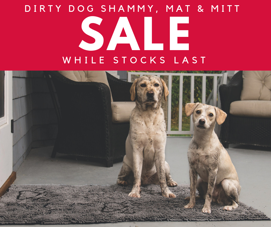 Dirty Dog DGS Sale Mat Mitt Shammy Grooming