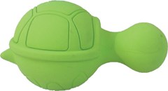 Ruffians Turtle - Ideal Squeaky Rubber Toy for Small Dogs