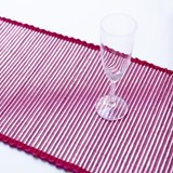 Table Runner Tinsel Fuchsia