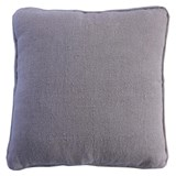 Linen Piped Cushion Flax