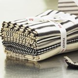 Fat Quarters Black and Naturals