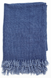 Linen Throw Indigo