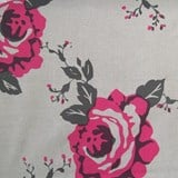 Cloth Rose ruby charcoal