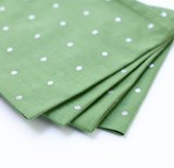 Napkins Tinsel Spot Green