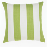 Awning Stripe Fern Cushion 50cm
