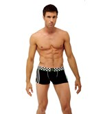 Black Racer Boxer Briefs
