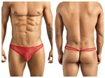 Mens Red Mesh G string