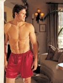 All Colours Mens Satin Boxer Shorts