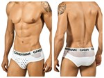 White Studded Mens Brief