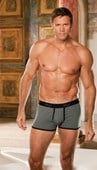 Charcoal Soft & Supple Fitted Boxer
