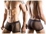 Black Mesh Boxer Shorts