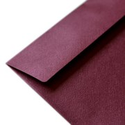 Crimson Metallic Envelopes Set of 10