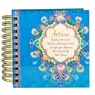 Peacock Dreams Square Spiral Notebook