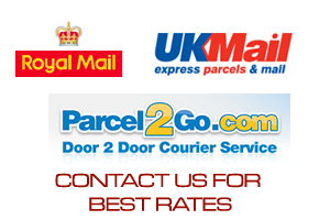 Contact us for the best prices on postage :)