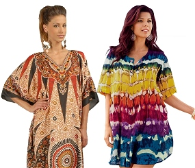 Cover Ups and Kaftans