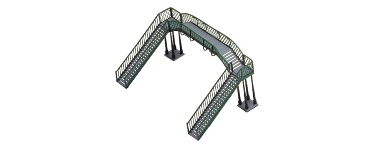 hornby r076 oo  scale footbridge hunter valley model